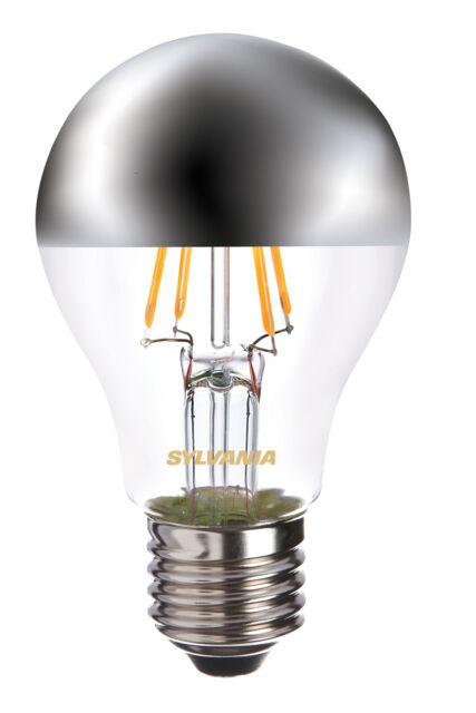 SYLVANIA COURONNE ARGENT A60 Miroir ampoule 4w Es E27 del 450lm 2700K NON DIM