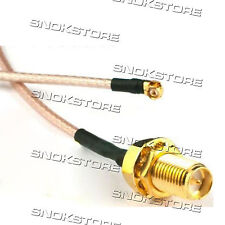 CAVO CABLE RG178  U.FL / IPX to RP SMA PIGTAIL PER ROUTER WIFI MODEM
