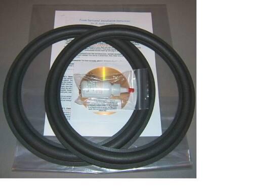 JL Audio 12W0,12W3 Foam Surround Speaker Repair Best Kit DOES NOT FIT V 2 SERIES