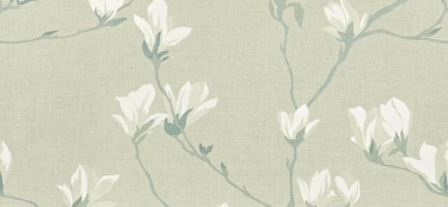 Roman Blind Made With Laura Ashley Magnolia Grove Hedgerow Fabric