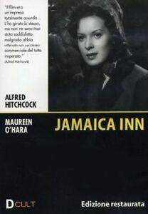 Dvd-JAMAICA-INN-Edizione-Restaurata-di-Alfred-Hitchcock-con-M-O-039-Hara-1939