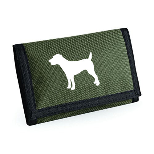 Birthday Mothers Day Gift Jack Russell Terrier Gift Wallet Silhouette Design