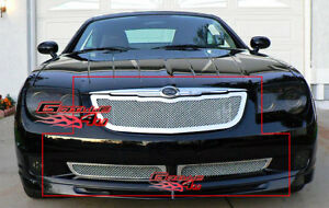 APS-2004-2008-Chrysler-Crossfire-Stainless-Mesh-Grille-Combo-2005-2006-2007