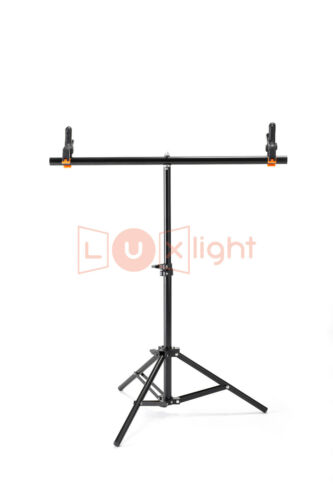 White Vinyl Backdrop /& T-Stand Set60x130cmTabletop Background Crease Free