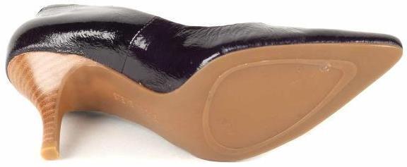 New STEVE STEVE STEVE MADDEN Women Leather Heel Pump Slip On Dress Pointy Toe shoes Sz 8 M 83366a