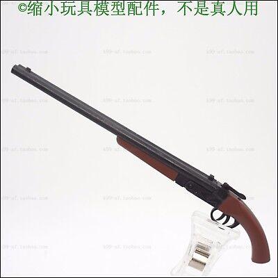 "1:6 Scale Weapon Model Female cowboy double tube shot Gun For 12/"" Figure"