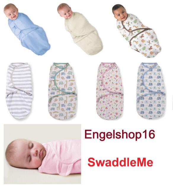 SwaddleMe Summer Infant Pucktuch Schlafsack 2er Pack Puckdecke Gr.S