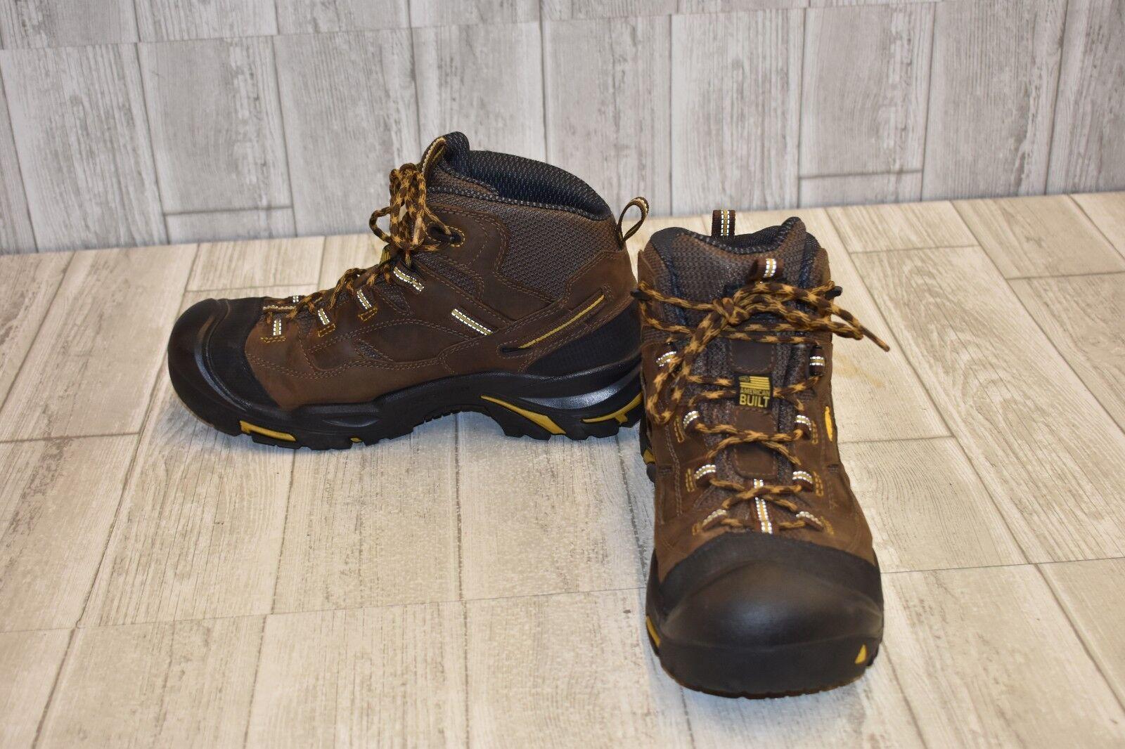 5154992c53c Keen Braddock Steel Toe Boot - Size 11D - Brown Waterproof Men's ...