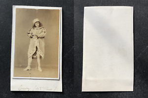 Guion-acteur-en-costume-de-scene-de-bouffon-circa-1860-vintage-cdv-albumen-pri