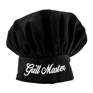 0b1312e09f8af Image is loading Personalized-Black-Chef-Hat-Monogrammed-Chef-Hat-High-