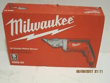 Milwaukee 6852-20, 18 Gauge Shear, FREE FAST PRIORITY SHIPPING, NEW SEALED  BOX!