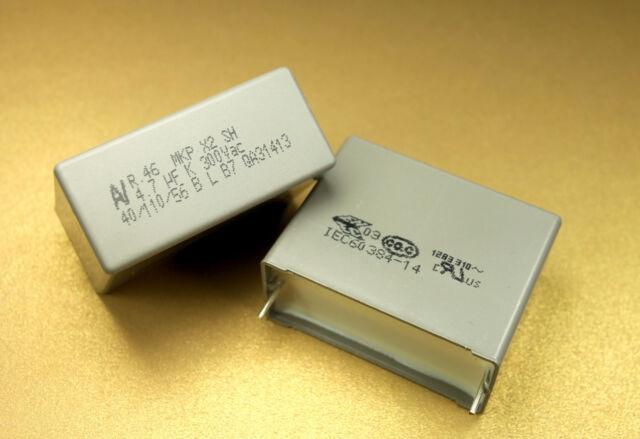 4pcs 4.7uF 630V 300VAC 10% MKP X2 Kemet Metal Box Film Polypropylene Capacitor
