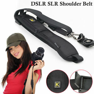 Camara-SLR-Camara-rapida-Sling-Cinturon-Correa-para-el-hombro-unico-SLR-Ds-Canon-Sony-Nikon