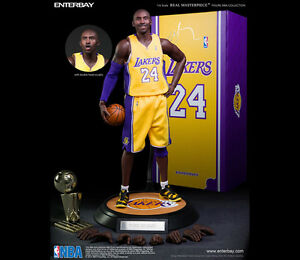 cb501c0588d6 Enterbay Kobe Bryant 2.0 1 6 Scale Figure Autographed Signed 3 24 ...