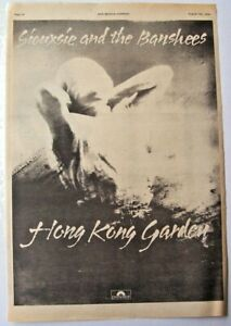 SIOUXSIE-AND-THE-BANSHEES-1978-POSTER-ADVERT-HONG-KONG-GARDEN-the-scream