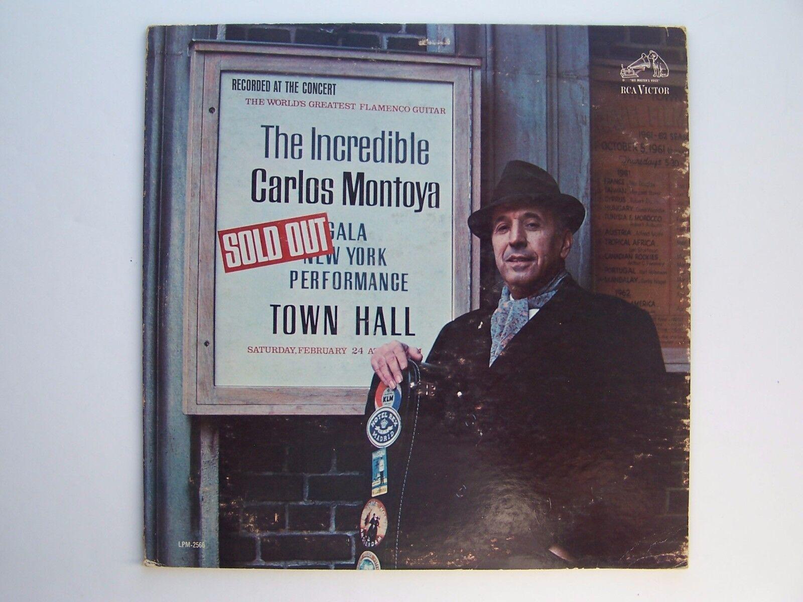 Carlos Montoya - The Incredible Carlos Montoya Vinyl LP