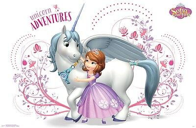UNICORN ADVENTURES POSTER SOFIA THE FIRST 22x34-15235