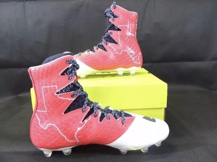 Under Armour Uomo Uomo Armour Highlight MC LE USA Texas Football Cleats 1275479-410 Size 10 76d6a2