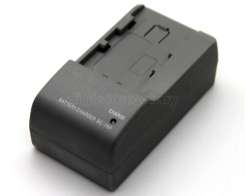 Cargador de batería para BC-TRP Sony DCR-SR210 DCR-SR220 DCR-SR290 DCR-SR300 DCR-SX40