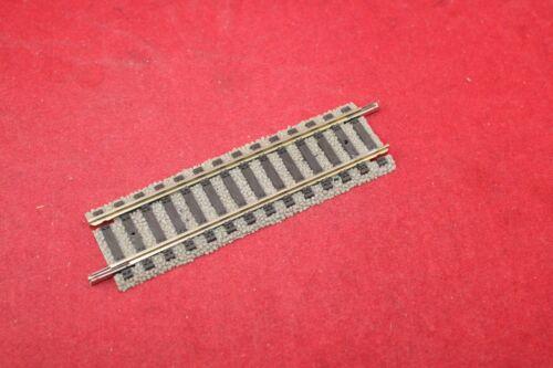 Fleischmann 6103 Spur H0 gerades Gleis 100 mm//guter Zustand