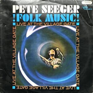 PETE-SEEGER-FOLK-MUSIC-LIVE-AT-THE-VILLAGE-GATE-1965-VERVE-LP-VINYL-RECORD-ALBUM