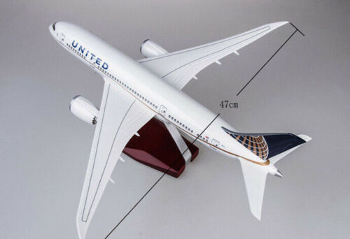 1//130th United Airlines Boeing B787 Replica Airplane Plane Aircraft Collection