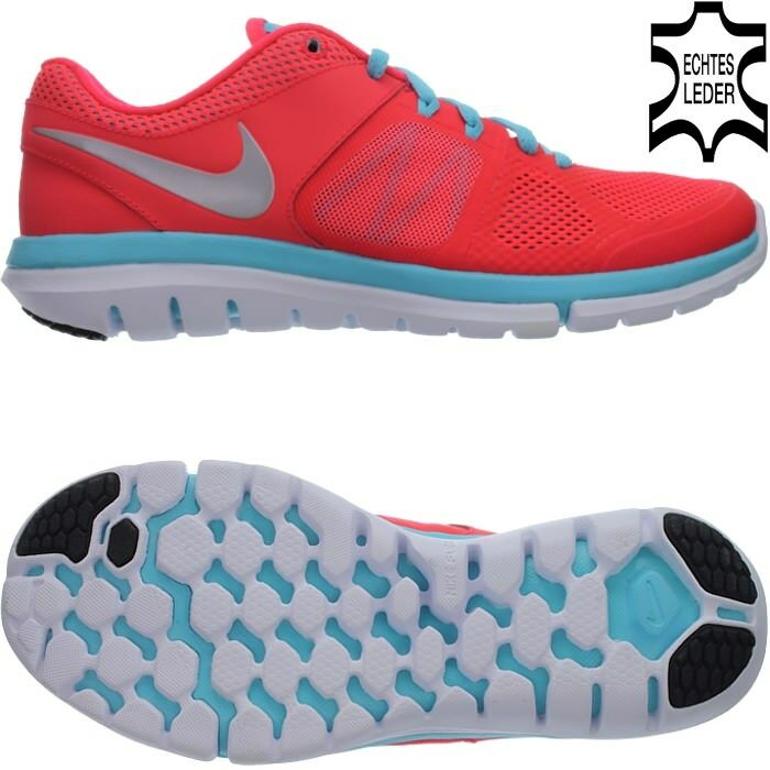 Nike FLEX 2014 RN Rosarot Damen Laufschuhe Jogging Turnschuhe Freizeit NEU OVP