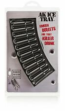 Bullet AK47 Ice Cube Tray Frozen Bullets For A Killer Drink FREE SHIPPING