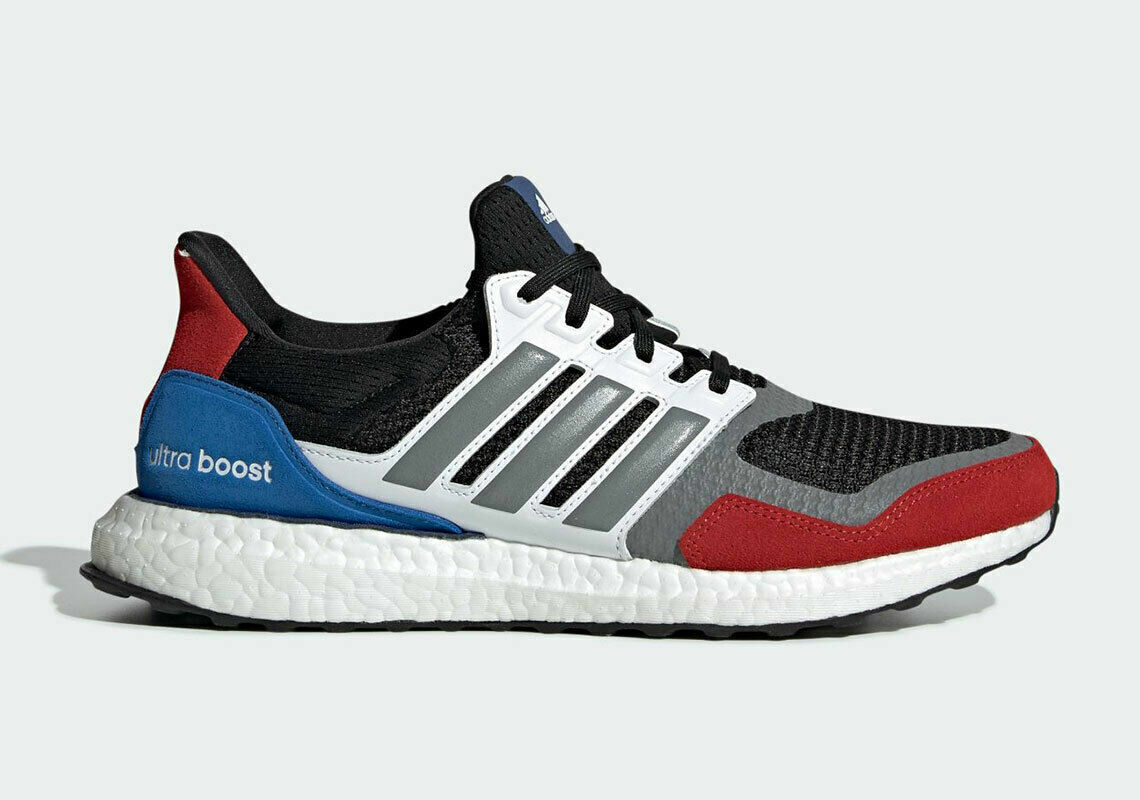 Size 9.5 - adidas UltraBoost 1.0 S&L Black Red Blue 2019