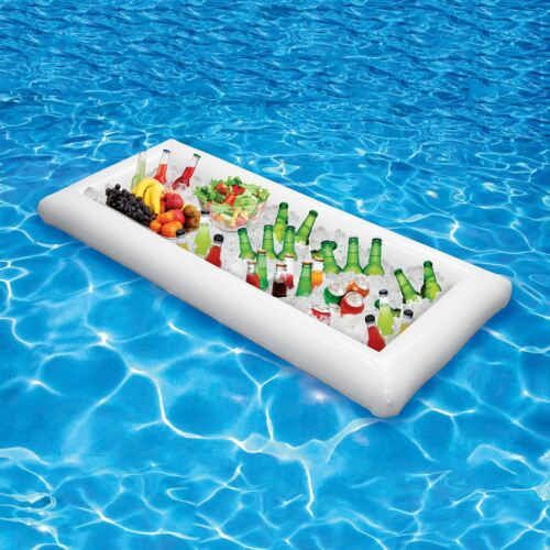 Parkland Inflatable Salad Bar Party Buffet Cooler Pool Ice Chest Beer Food New