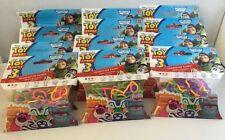 12 Lot Toy Story 3 BANDZ Silly Bracelet Bands 20 Bracelets in Each Pack