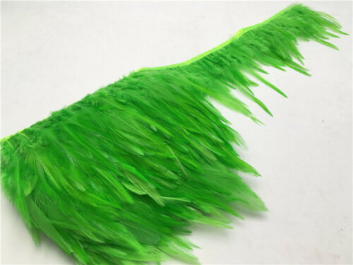 1-10 Yd Beau Mâle Queue Feather Ribbon 4-6 in//10-15 cm Vente en gros
