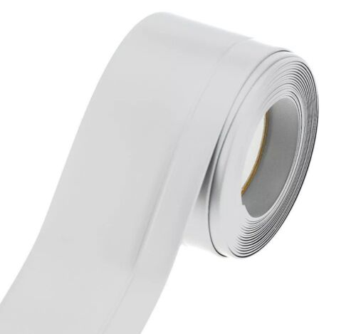 25m Weich Sockel Leiste selbstklebend Knickwinkel Sockelleiste 45x15mm weiß