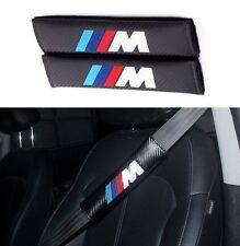 2 × BMW M logo Auto Sitzgurt Carbonfaser Schultern Schutzauflage Für BMW