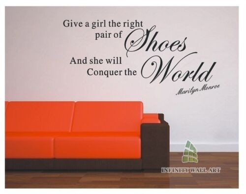PD249 Marilyn Monroe Quote Wall Art Decal//Wall Sticker//Wall Graphic