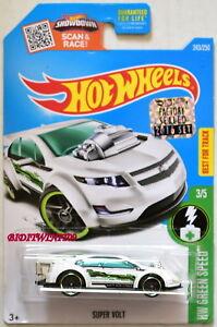 Autos, Lkw & Busse Logisch Hot Wheels 2016 Hw Grün Speed Super Volt #3/5 Weiße Werkseitig Versiegelt Online Rabatt Modellbau