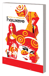 Hawkeye-Vol-3-by-Matt-Fraction-L-A-Woman-Paperback-Trade-Marvel