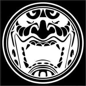 Oni Japanese Yōkai Vinyl Decal Sticker TWO Pack EBay - Vinyl decals custompack of custom skull face vinyl decalsstickers thedecalking