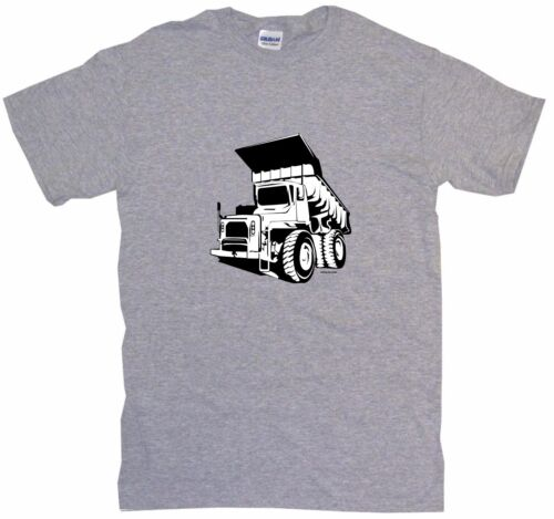 Construction Dumptruck Dump Truck Logo Kids Tee Shirt Pick Size /& Color 2T XL