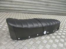 Lambretta s3 GP TV LI SX LI quality seat saddle black ribbed dual seat