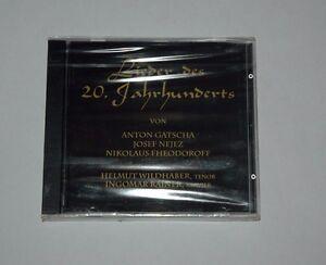 CD-SEALED-NEU-NEW-LIEDER-DES-20-JAHRHUNDERTS-GATSCHA-NEJEZ-WILDHABER-RAINER