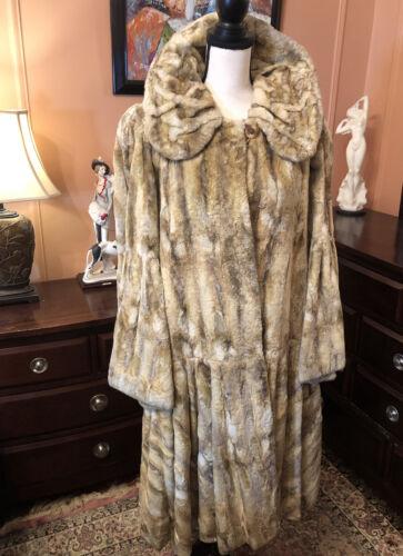 Fur Soft Cropped Rabbit Coat Size44