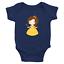 Infant-Baby-Rib-Bodysuit-Jumpsuit-Romper-Clothes-Beauty-amp-Beast-Princess-Belle thumbnail 5