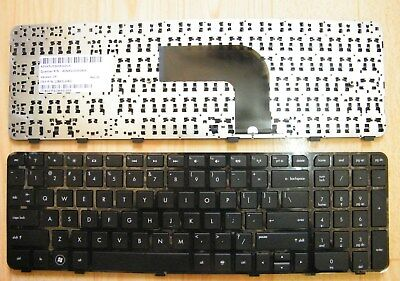 New OEM HP Envy DV6-7000 DV6-7010US DV6-7029WM Keyboard US Black  w// frame