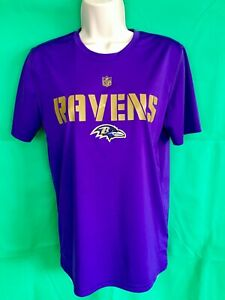 aa004074 Details about T.05 NFL BALTIMORE RAVENS Nike Dri fit T shirt Ladies/Women's  US LARGE