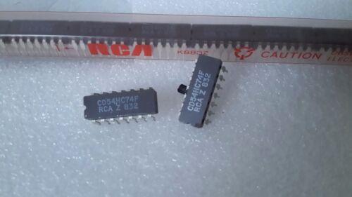CD54HC74F RCA Qty2 CMOS IC CD74HC74F 54HC74 74HC74