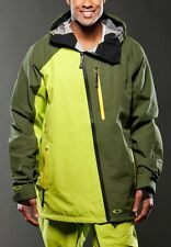 NEW Oakley Mens PRIMED SKI JACKET Size L $500 Waterproof 30K winter snowboard