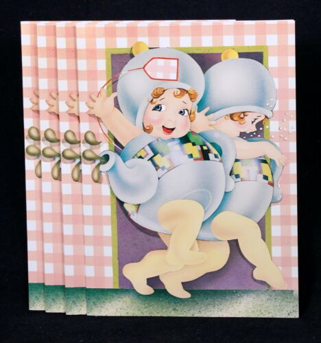 "4 1982 /""Cream In My Coffee/"" Friendship Greeting Cards By Rainboworld Four"