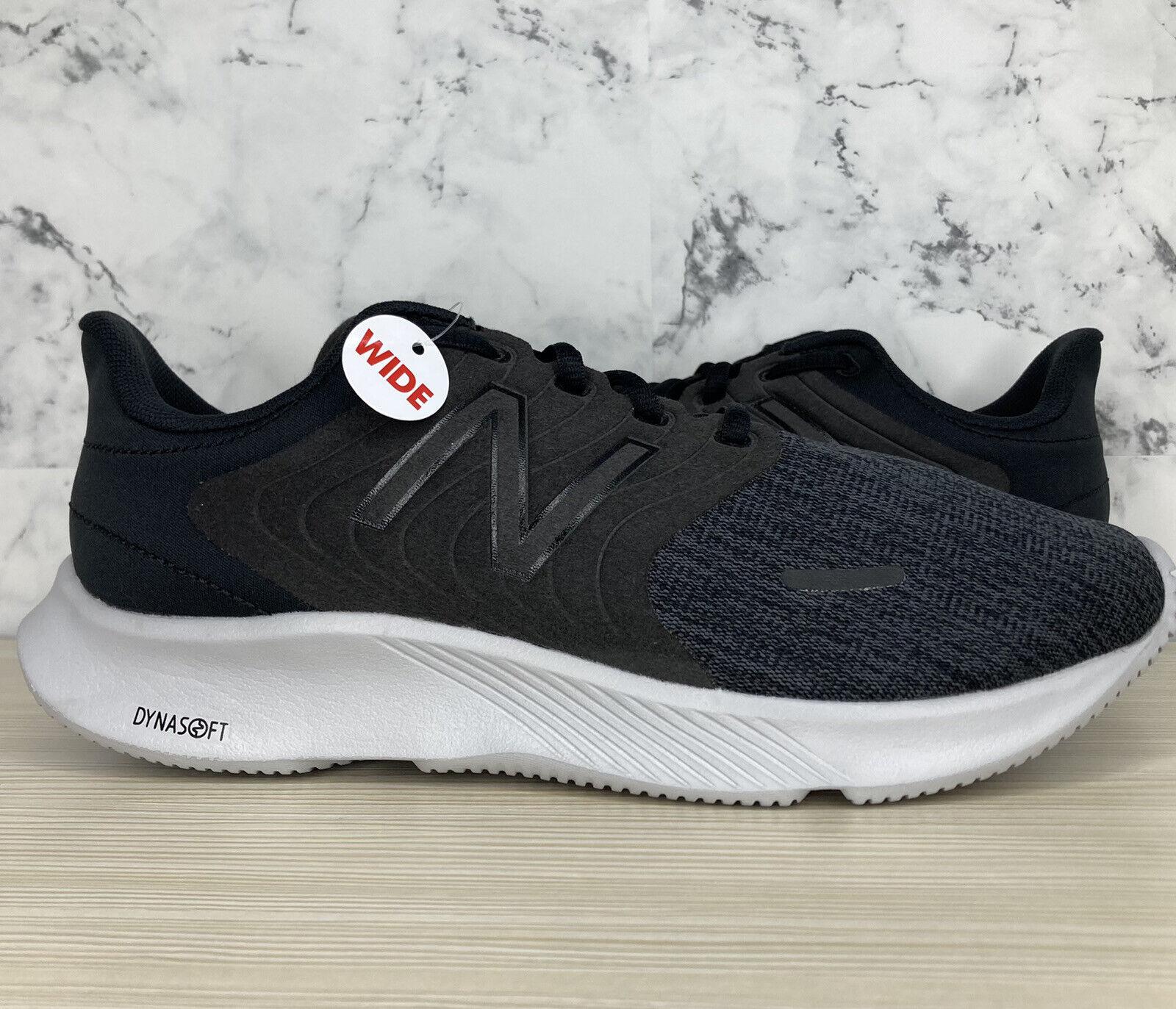 New Balance 068 4E Men's 7.5 Extra Wide Black Gray Running Shoes M068CK 4E