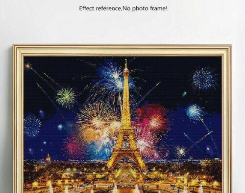 Eiffel Tower Diamond Painting 3D DIY Embroidery Full Square Drills Wall Displays